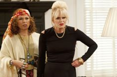 Still of Joanna Lumley and Jennifer Saunders in Absolutely Fabulous - Identity ep 2011