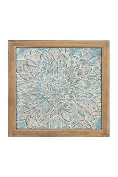 Metal & Wood Wall Plaque by Rustic Vintage Decor on @HauteLook