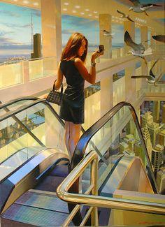 Contemporary Artists - Stanislav Plutenko Russian Painter