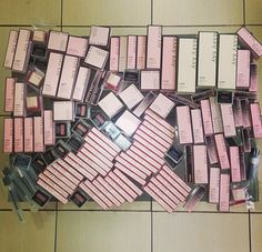 Heaven! Look at all that beautiful Mary Kay product!!!