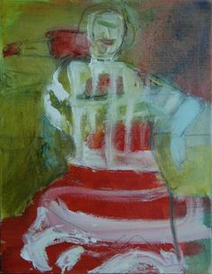 "Janice Sztabnik; Painting, ""The last laugh"""