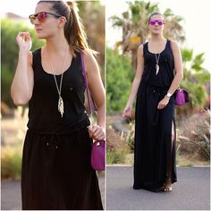 Look of the day: #marilynscloset #fashionblogger #streetstyle #lookoftheday #lookbook #black #mama #style #summer #outfits  http://marilynsclosetblog.blogspot.com.es/2015/08/all-black.html