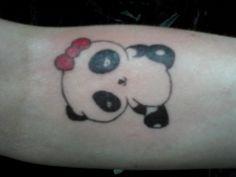 Panda tattoo by yelloemello.deviantart.com