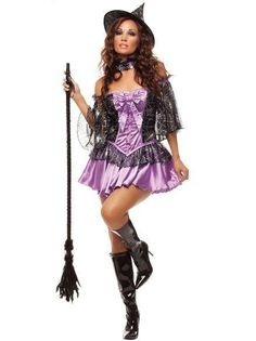 NEW Adult Women s Sexy Wicked Witch Cosplay Halloween Costume Fancy Dress  S M  fashion f97d3a0c9860