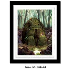 """11"""" x 14"""" Open Edition Giclee Print on Arches Watercolor Paper"""
