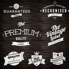 Free Logo Vintage Labels Design Vector - EPS - Free Graphics download