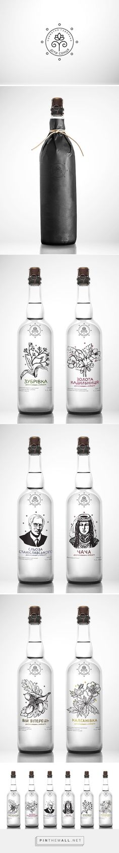 Moonshine packaging branding on Behance by Andreana Chunis curated by Packaging Diva PD. Love this illustrated bottle design for Moonshine : ):