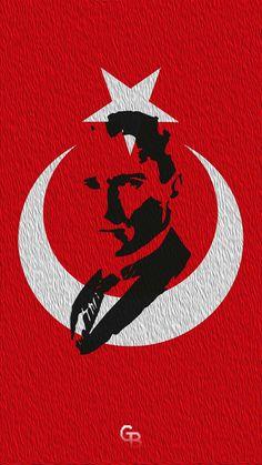 Mustafa Kemal Atatürk Galaxy Wallpaper, Old Pictures, Blue Bird, Illustrations Posters, Art Drawings, Drawing Art, Iphone, Art For Kids, Mandala