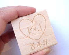 Valentines Day Card Return Address Stamp. by AproposRoasters