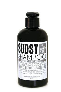 Coconut Lime Verbena Vegan Shampoo - 8oz - Eco-Friendly Hair Care on Etsy, $17.00