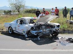 muscle car wrecks images | Re: Wrecked Muscle cars