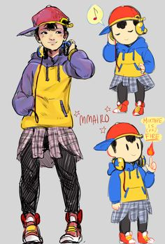 Ness (Earthbound/ Mother 2)