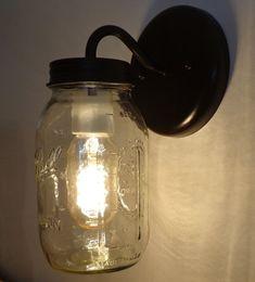 Einmachglas Wall Wandleuchte Beleuchtung Leuchte neue von LampGoods