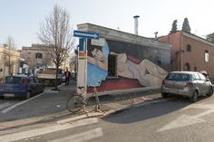 StreetArt Roma: Street Art | Jim Avignon | 2012 | Zona: Quadraro | #art #streetart #roma