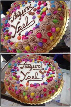 Buon compleanno colorato YAEL!!!!!! 11 anni!                                     Happy coloured birthday YAEL!!!!! 11 years old!----------------------------Biscottificio Innocenti, bontà, Torta, Cake, Dolce, Dolci, Forno, Oven, Sweet, Cioccolato, Choco, Chocolate, Love, Food, Trastevere, Roma, Fantasy, Happy Birthday, Buon Compleanno
