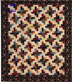 block shown-  Martingale - Successful Scrap Quilts from Simple Rectangles (Print version + eBo