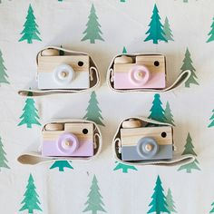 Cute 3D Cartoon Wooden Hanging Camera Kids Xmas Gift Wall Hanging Ornament Decor #Affiliate