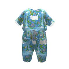 Brindille and Twig Kimono Sleeve Romper made with Spoonflower designs on Sprout Patterns. Brindille, Spoonflower, Kimono, Rompers, Patterns, Sleeves, Kids, Design, Fashion