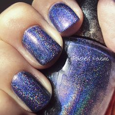 OPI DS Glamour. Sweet holo goodness