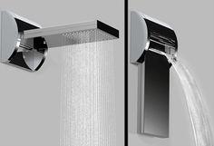 modern showers