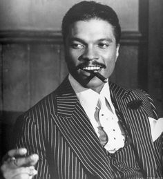 """Darling, you want my arm to fall off?"" Billy Dee Williams in ""Lady Sings The Blues"" starring Diana Ross as Billie Holiday."