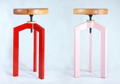 Gorgeous handmade stools-- from Jonathan January  _etsyfeaturedshop-handmadefurniture-jonathanjanuary-011