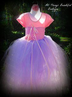 Tangled Rapunzel inspired Disney Princess Tutu by AllThingsGrand, $69.99