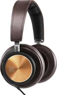 B&O Play BeoPlay H6 (Bronzed Hazel). First-class style and sound. Bang  Olufsen may be famous for their industrial design. But they know a few things about sound quality, too. Their BeoPlay H6 Special Edition headphones are a testament to that.