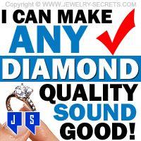 ►► I CAN MAKE ANY DIAMOND SOUND GOOD ►► Jewelry Secrets