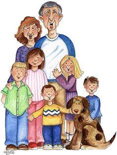 Imágenes de diferentes familias