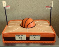 basketball cakes for boys - Google Search