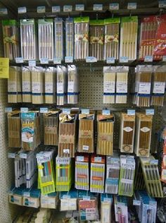 A Large  Selection Of #Chopsticks. #Wal-Mart, #bizarre, #unusal, #different, #shopping, #retail, #weird