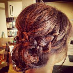 Loved my romantic updo! My hair dresser was amazing!