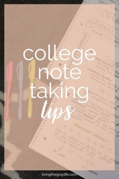 College Note Taking Tips – Living the Gray Life College Note Taking Tips College Note Taking, Note Taking Tips, College Notes, College Classes, College Hacks, Education College, Taking Notes, College Song, Back To College