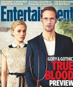 Entertainment Weekly cover True Blood. #true_blood