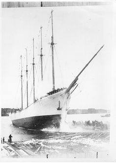 "The Caroll A.Deering ~Abandoned and deserted, with all of its eleven crewmen missing, the circumstances are as strange as those of the ""Mary Celeste,"" and her demise remains as one of the greatest unsolved maritime mysteries of all time.  Click for the story"