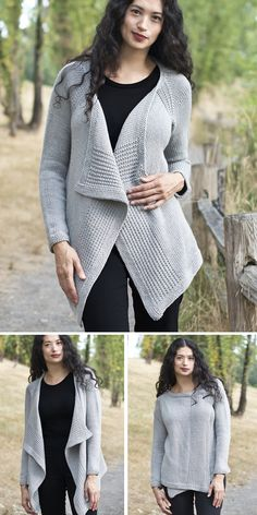 Knitting pattern for a ladies scalloped edge cardigan    4ply   sizes XS XL
