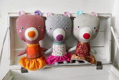 bear dolls sisters / Břichopas toys
