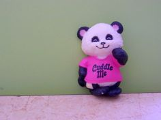 """Pammy the Panda from Shirt Tales....used to have a pink shirt with that panda that said """"hug me"""" :)"""