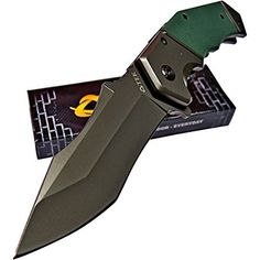 OerLa TAC Transformers Decepticon Folding Knives 9cr18mov Blade Stainless Steel & G10 Handle Tactical knife