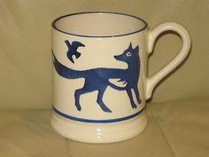 Blue Animals - Blue Fox 0.5 Pint Mug 2005 (Discontinued)