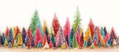 Sparrowsongs: Christmas Tutorial #1: Hand Dyed Bottle Brush Trees