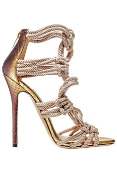 Jimmy Choo Sandals, $1395 / Jimmychoo.com