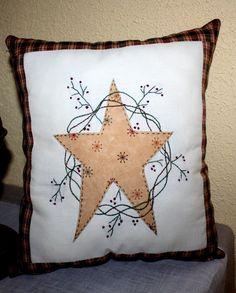 Cojin con estrella