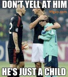 Funny Meme About Referee vs. Football Player