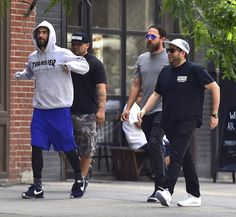 Pin for Later: Jonah Hill and Adam Levine Strut Their Stuff on the Streets of NYC