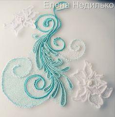 This Pin was discovered by Вал Freeform Crochet, Crochet Motif, Crochet Flowers, Crochet Lace, Crochet Stitches, Diy Flowers, Irish Crochet Patterns, Crochet Designs, Lace Making