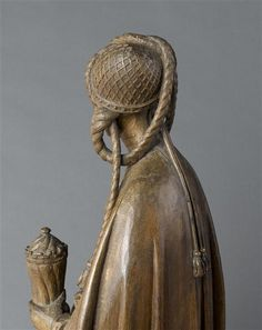 Mary Magdalen Bust, quarter of the quarter of the Century. Medieval Fashion, Medieval Art, French Artwork, Renaissance, Charles Viii, Historical Hairstyles, Romanesque Architecture, Late Middle Ages, Mary Magdalene