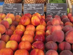Summer peaches galore - time to make a real Bellini