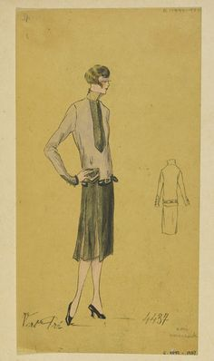 Vert Pré | Jean-Charles Worth | V&A Search the Collections